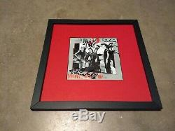 STRAY CATS Signed By All 3 & Framed Vinyl Record Album BRIAN SETZER Autographed