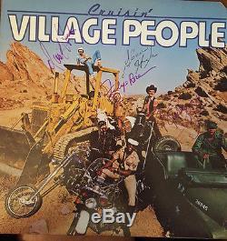Sale Village People Signed Cruisin' Lp Album-rare