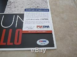 Sam Hunt Montevallo Autographed Signed LP Album Record PSA Certified