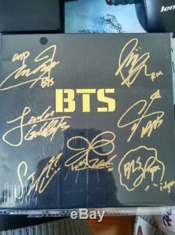 Signed Album BTS Bangtan Boys 2 Cool 4 Skool Jung Kook Jimin SUGA ALL7 Autograph
