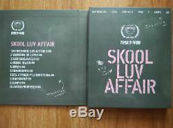 Signed Album BTS Bangtan Boys SKOOL LUV AFFAIR Jung Kook Jin ALL7 Hand Autograph