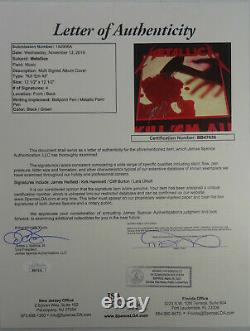 Signed Metallica Autographed Kill'em All Megaforce Lp Album Cliff Jsa # Bb47636