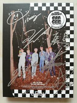 Signed NCT DREAM We Boom ALL6 Autograph Jisung Chenle Jeno Mark RenJun Jaemin