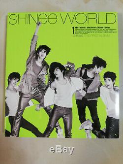 Signed SHINee Sherlock The SHINee World ALL5 Autograph JongHyun Key MinHo Taemin