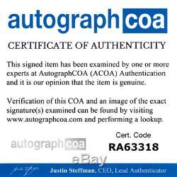 Slipknot Autographed Signed Album Record LP ACOA