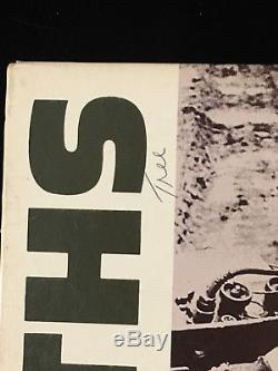 Smiths Meat Is Murder Record Lp Album Signed Morrissey Rare Inscription 1985