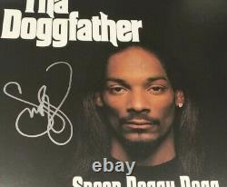 Snoop Dogg THE DOGGFATHER Signed Autographed Hip Hop Vinyl Album BECKETT