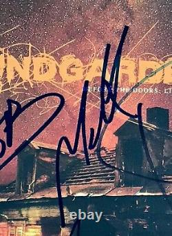 Soundgarden signed album chris cornell group autographed beckett loa