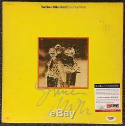 Steve Miller Band Signed Record Album Cover PSA/DNA Autographed Brave New World