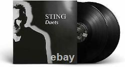 Sting Duets Double Gatefold Vinyl Album Sealed With Signed Autograph Art Card