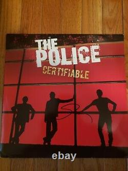 Sting signed autographed The Police Certifiable album