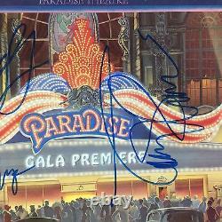 Styx Paradise Theater Signed Autograph Record Album JSA Dennis DeYoung vinyl