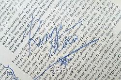 THE BEATLES'Please Please Me' album signed by Paul McCartney & John Lennon