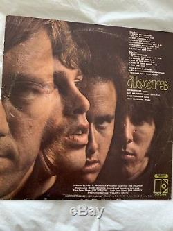 THE DOORS SIGNED Self Titled ALBUM Signed by Band Members