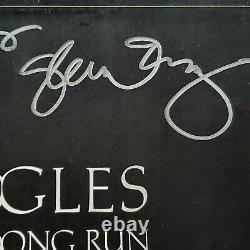 THE EAGLES LONG RUN Signed Autographed Album FREY HENLEY FELDER MEISNER COA