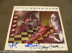 THE J. GEILS BAND SIGNED AUTHENTIC FREEZE FRAME RECORD ALBUM LP B WithCOA PROOF X3