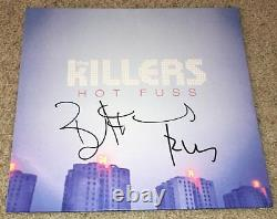 THE KILLERS SIGNED AUTOGRAPH HOT FUSS ALBUM BRANDON FLOWERS & RON withEXACT PROOF