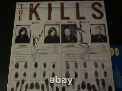 THE KILLS SIGNED KEEP ON YOUR MEAN SIDE ALBUM COVER WithPROOF ALISON MOSSHART
