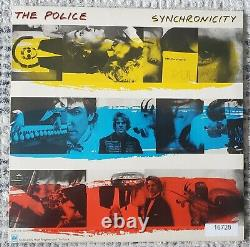 THE POLICE STING COPELAND SUMMERS Signed Synchronicity Album withCOA Lollapalooza