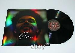 THE WEEKND SIGNED AFTER HOURS HOLOGRAPHIC VINYL ALBUM RECORD LP withCOA STARBOY