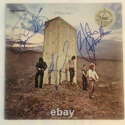 THE WHO Signed Autograph WHO'S NEXT Album Record LP X 3 JSA Authentication