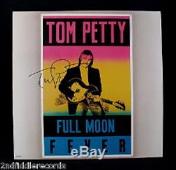 TOM PETTY-Autographed FULL MOON FEVER Album-THE TRAVELLING WILBURYS