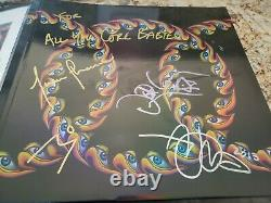 TOOL Lateralus 2LP Picture Disc Vinyl Album SIGNED by Band JSA LOA BB33908