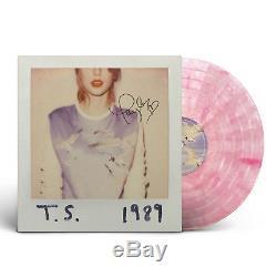 Taylor Swift 1989 Pink Splatter Vinyl Record Album RSD SIGNED Limited /250