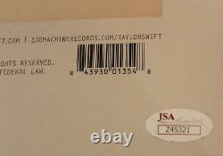 Taylor Swift 1989 Signed New Vinyl LP Album withJSA COA Z45321