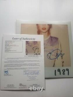 Taylor Swift Signed Autograph 1989 Vinyl Record Album LP JSA/OTF LOA