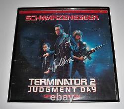Terminator 2 ARNOLD SCHWARZENEGGER Signed Album JSA
