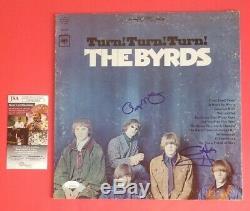 The Byrds Vintage Lp Album Signed By Roger Mcguinn & Chris Hillman With Jsa Coa