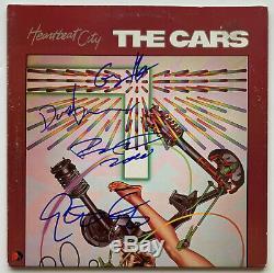 The Cars Autographed Vinyl Record Album signed by 4 Ric Ocasek Beckett BAS coa