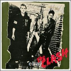 The Clash 1978 Autographed Debut Album (UK)