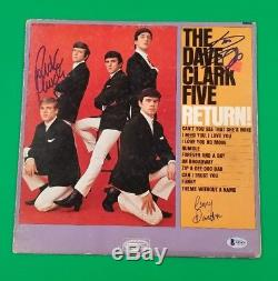 The Dave Clark Five X3 Lp Album Signed By Dave Clark+2 Beckett Certified Bas Coa