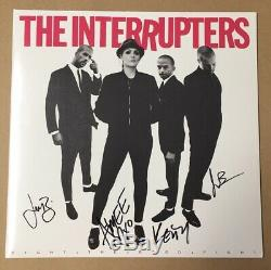 The INTERRUPTERS Group Signed 12 Vinyl Record Album Autographed All (4) w COA