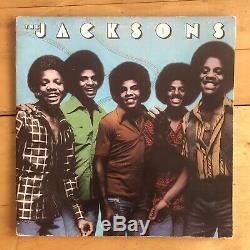 The Jacksons Self Titled 1976 Album SIGNED Michael Jackson LOA Gatefold LP Good