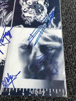 The Rolling Stones Signed'Emotional Rescue' Album Cover Only No Record