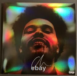 The Weeknd Signed After Hours Holographic Album PSA/DNA COA #AH47500 Auto Vinyl