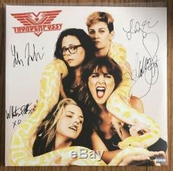 Thunderpussy BAND SIGNED Autographed Limited Etched Logo Vinyl Record Album NEW