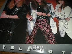 Tnt Signed/autographed Tell No Tales Vinyl Record Album Tony Harnell + 3