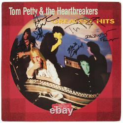 Tom Petty and the Heartbreakers (5) Band Signed Album Cover With Vinyl BAS #A57628