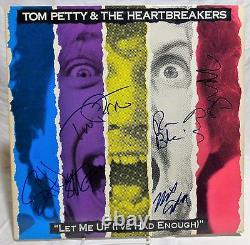 Tom Petty and the Heartbreakers group Signed Autographed Album A