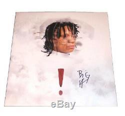 Trippie Redd Rapper Signed! Vinyl Record Album Litho Photo Poster Autograph New
