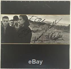 U2 Band Signed The Joshua Tree Album U2 Signed Rare Coa Included 100% Authentic