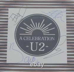 U2 Band signed autographed framed album! RARE! Bono! Edge! Larry! Adam! AMCo LOA