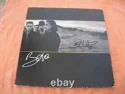 U2 The Joshua Tree Bono Edge Signed Lp Album Vinyl Beckett Loa