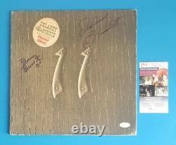 ULTRA RARE DELANEY AND BONNIE BRAMLETT SIGNED LP ALBUM JSA COA psa Eric Clapton
