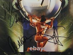 Van Halen 5150 JSA Signed Autograph Album LP Sammy Hagar Alex Van Halen