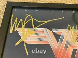 Van Halen II Album Hand-signed Framed Eddie Alex David Lee Roth Michael Anthony